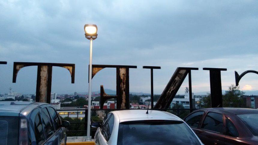 Vista desde el estacionamiento de la Cineteca Nacional