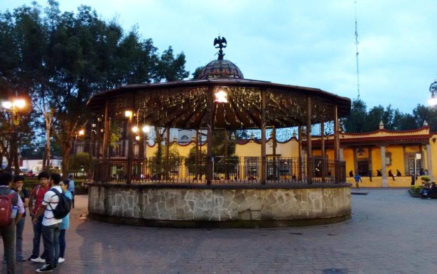 Kiosko en Coyoacán