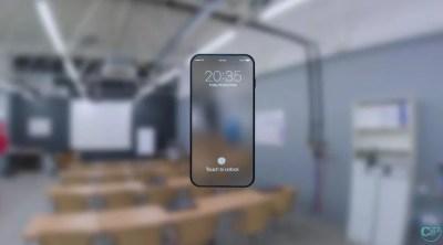Đây rồi! Ý tưởng iPhone 8 màn hình