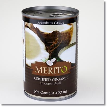 メリトー オーガニックココナッツミルク 400ml