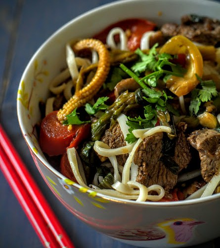 Lemongrass and Chilli Beef Stirfry