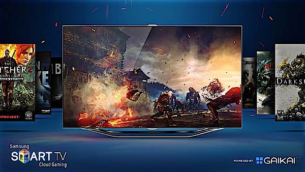 Gaikaipowered cloud gaming coming to Samsung Smart TVs