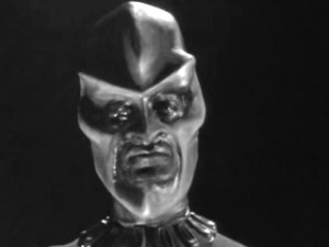 """John Anderson as Ebonite Interrogator in The Outer Limits episode, """"Nightmare."""""""