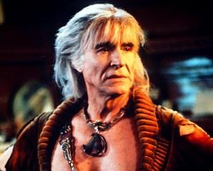Recardo Montalban in Star Trek II reprising his role from the TV series.