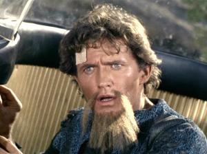 Robert Brown as Lazarus A & B in the Star Trek episode, The Alternative Factor. John Drew Barrymore was originally cast as Lazarus.