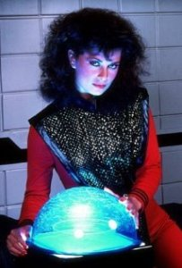 Jane Badler in V.