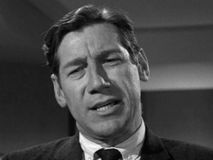 Michael Fox in the Twilight Zone episode, Sounds and Silences.