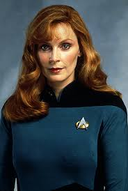 Gates McFadden in Star Trek TNG