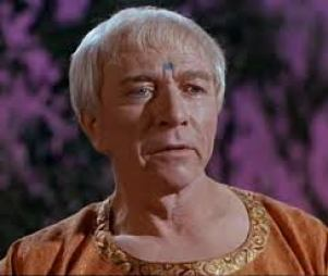 """Vic Perrin in Star Trek. Better known as the """"Control Voice"""" for the original Outer Limits."""