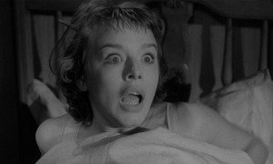 Janet Munro in The Crawling Eye