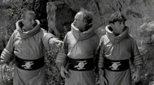 Larry Fine in Have Rocket, Will Travel