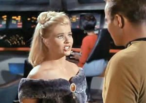 Barbara Anderson in Star Trek
