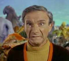 Jonathan Harris in Lost in Space