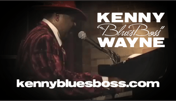 Kenny Blues Boss Wayne Business Card