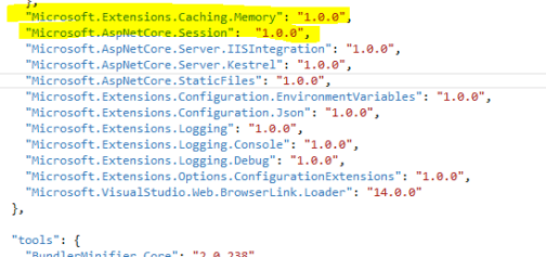 nuget package for session state