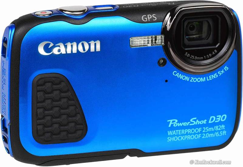 Large Of Canon Powershot D30
