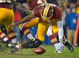 When a quarterback's knee bends like RG3's did in the above picture, people rightly ask questions about his future.