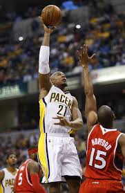 Beast mode is a tired and overused phrase, but David West in last night's Game Five was in full beast mode.