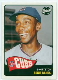 Go ahead, try to find a picture where Ernie Banks isn't smiling.