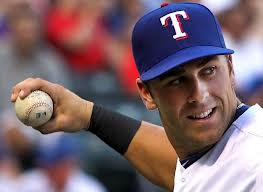 Rangers third base prospect has plenty of pop, and might make people forget Matt Garza very quickly.