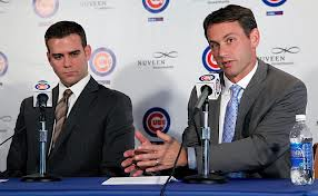 Cubs President Theo Epstein and GM Jed Hoyer are the stars of the series of trades the Cubs made today, and there is no telling yet what players will be gotten with the gains.