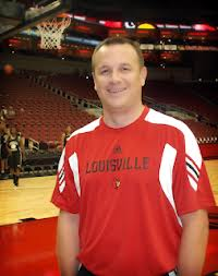 Looks like a guy who would buy the house a cold beer, and tomorrow night, Louisville women's hoops coach Jeff Walz will do just that.
