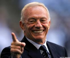 Who's the smartest guy in Cowboys Stadium?  We know for whom Jerry Jones casts his vote.