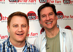 The last ride for Chris Hagan and me airs today from 10a-12p.