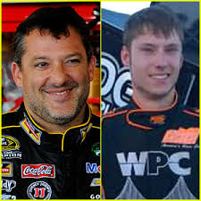Tony Stewart (r) and Kevin Ward (l) were both victims of last night's fatal incident.