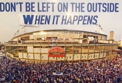 If it happens, I'll find a way into Wrigley Field without buying season tickets.  If it doesn't happen, I lose nothing but sleep.