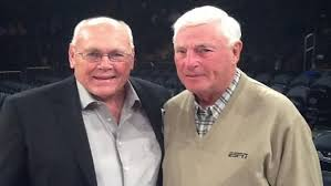 Gene Keady and Bob Knight are all smiles now, but through 41 games in the Purdue vs. Indiana rivalry, their relationship appeared to be magically contentious.