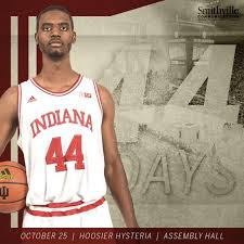 Jeremiah April is the latest transfer from Indiana.