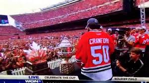 """Corey Crawford said a bad word - stop the party!""  Ahh, shaddup!"