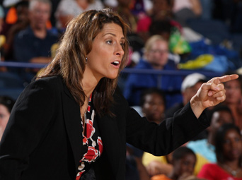 Stephanie White is a really good basketball coach - not a really good women's basketball coach.
