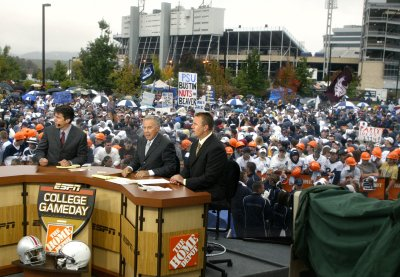 There is no better energy engine for a football program than to host ESPN's Gameday, but they are not welcome in Bloomington.