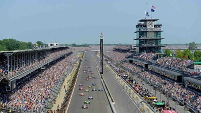 The Indianapolis Motor Speedway is enjoying it's 100th May as the host of the Greatest Spectacle in Racing.