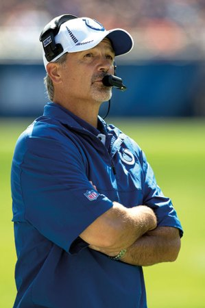 Jim Irsay might have been telling Chuck Pagano the truth, but then again ...
