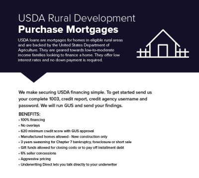 Kentucky Rural Housing USDA Credit and Income Guidelines for 2018 – Kentucky USDA Rural Housing ...