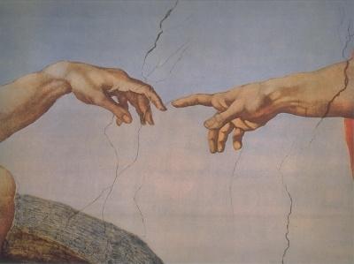 Michelangelo: Erschaffung Adams