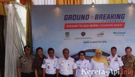 Metland Cikarang Bangun Stasiun KRL Telaga Murni Bekasi