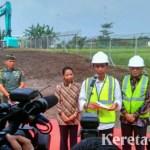 Proyek Dimulai, Kereta Bandara Adi Soemarmo Rampung 2018