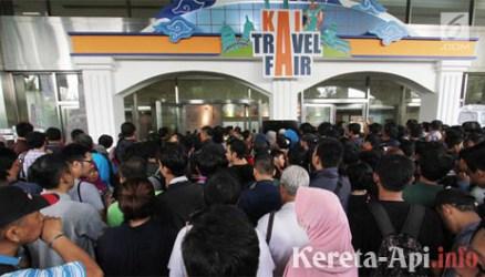 Antusiasme Tinggi, KAI Travel Fair Bakal Digelar Lagi Tahun Depan