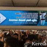 Hadirkan Info dan Hiburan, KRL Jakarta-Cikarang Dilengkapi Layar MacroAd
