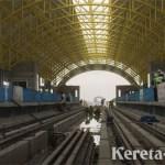 Progres 80 Persen, LRT Palembang Ditargetkan Beroperasi Juni 2018