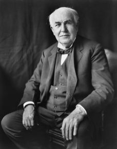Thomas Edison (c) Wikipedia