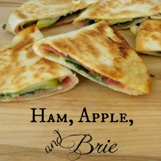 ham and brie, quesadilla recipes, brie appetizer recipes, brunch recipes