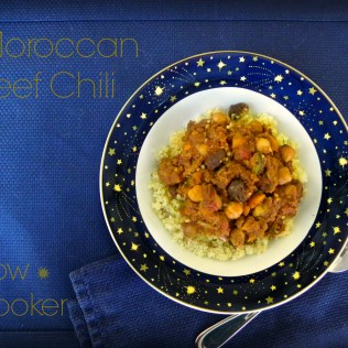 Slow Cooker Moroccan Beef Chili