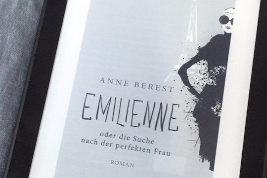"""Rezension #138: """"Emilienne oder die Suche nach der perfekten Frau"""" von Anne Berest"""