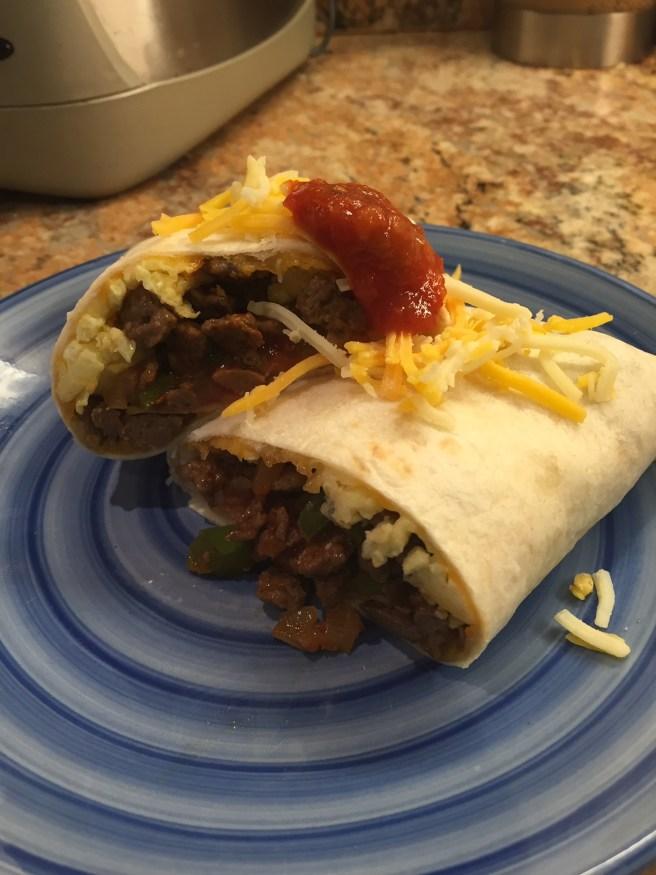 My Best Ever Bruin Breakfast Burritos