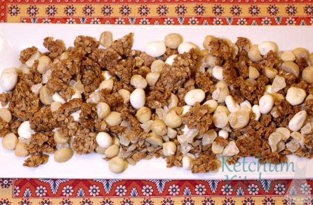 Hawaiian Trail Mix w/ Homemade Honey Granola